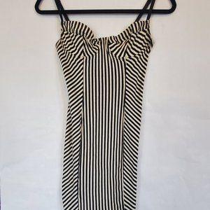 Jersey Underwire Bustier Dress American Apparel